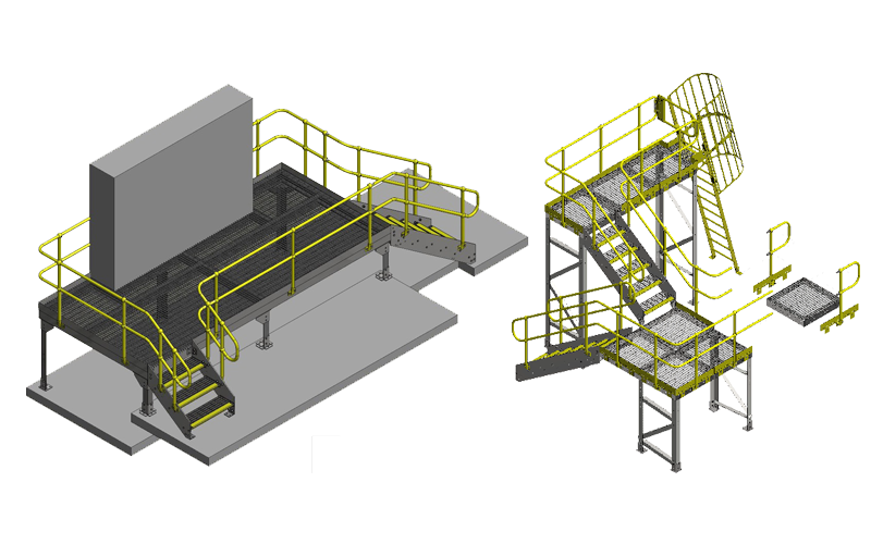 Contact StepForm - Modular Platforms, Stairs and Ladders