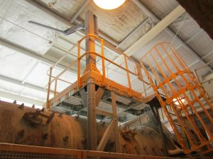 crusher_access_platform